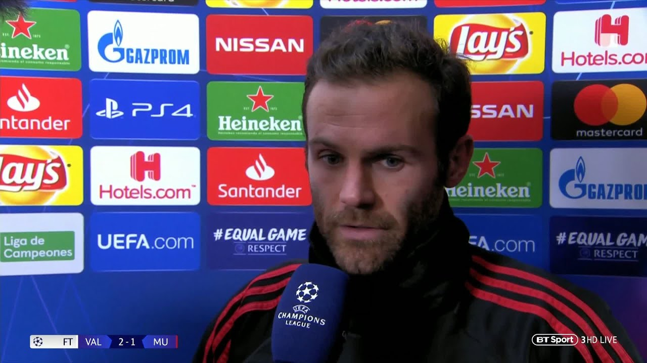 Chelsea vs Manchester United: Juan Mata hails 'perfect response' to PSG defeat ...