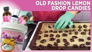 Old Fashion Lemon Drop Candies By Www Sweetwise Com
