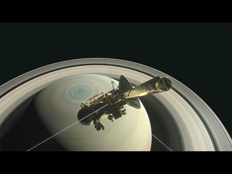 NASA Cassini probe plunges into Saturn to end 20yr mission (STREAMED LIVE)
