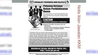 Jawatan Kosong Kementerian Kesihatan Malaysia KKM Terkini