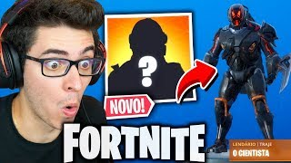 I RELEASED THE SECRET SKIN OF SEASON 10 AT FORTNITE!!