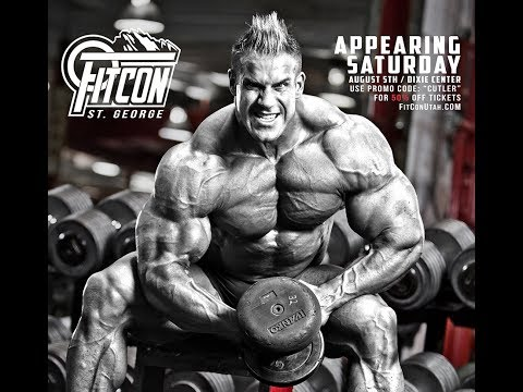 Jay Cutler Q&A at FitCon 2017