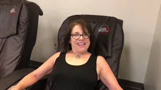 1 Minute Highlights. Houston, Texas. Massage Chair at Houston Hobby Airport