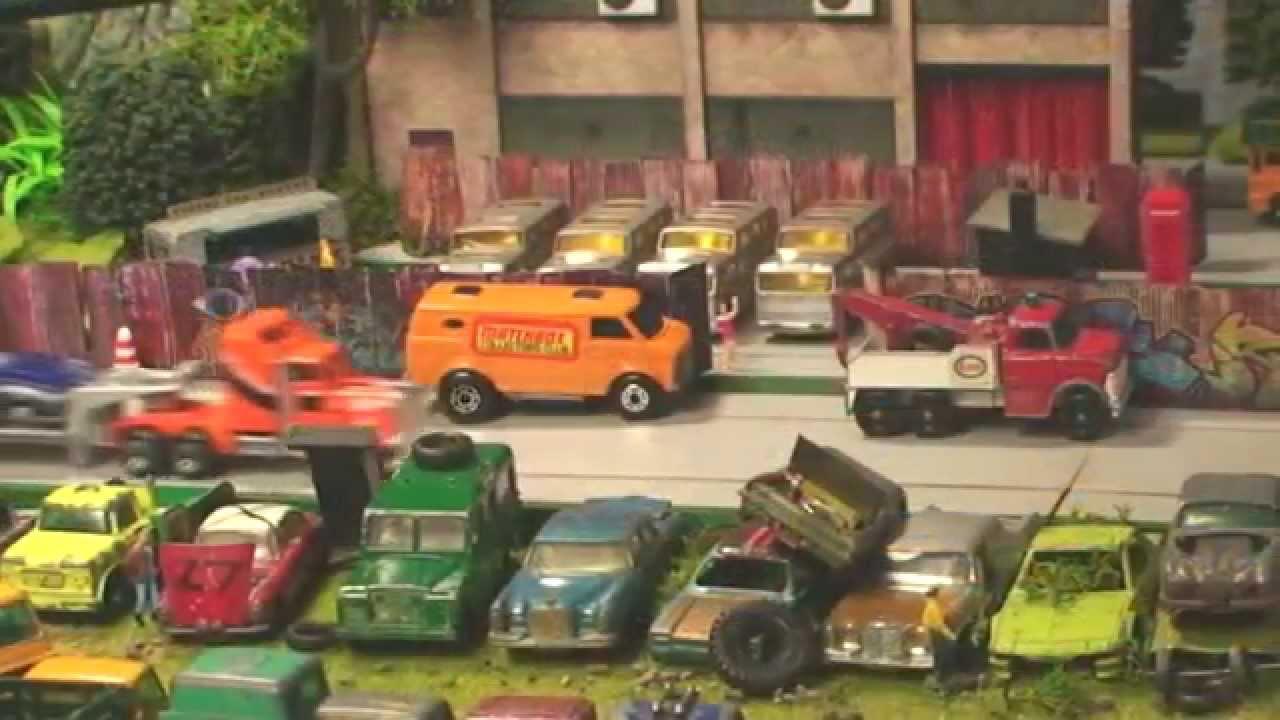 8 Toys Yeards : Toy car wrecking yard fast restoration youtube