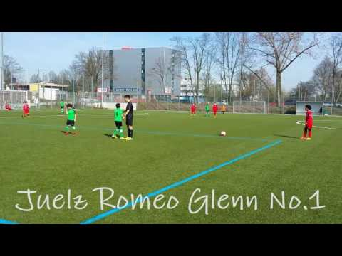 4 Goals for Juelz Romeo Glenn : SG Rot-Weiss Frankfurt U9 vs. SV Griesheim Tarik 10-0 ( Wonderkids )