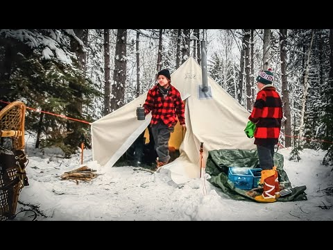 Winter Camping with Tierney Angus: Bacon, Donuts, Mukluks, Toboggans and Hot Tent Tips