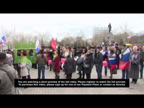 Ukraine: Sevastopol residents await results of referendum