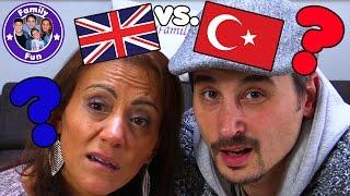 SPRACHEN CHALLENGE  TÜRKISCH vs. ENGLISCH mit BESTRAFUNG | FAMILY FUN