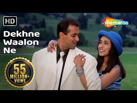 Dekhne Waalon Ne | Chori Chori Chupke Chupke Song | Salman Khan | Rani Mukherjee | Romantic Song