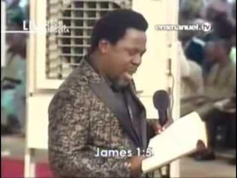The Futility of Self Effort TB Joshua