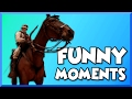 Battlefield 1 Funny Moments - Sandstorm, Horse Riding Glitch, and Roger the Horse! (Beta Gameplay)
