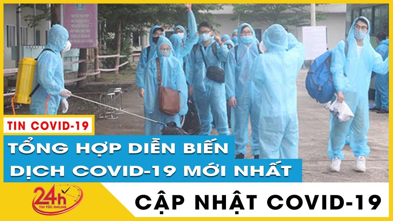 Tin tức Covid-19 mới nhất hôm nay 24/6. Diễn biến mới Dich Virus Corona Việt Nam hôm nay. TV24h