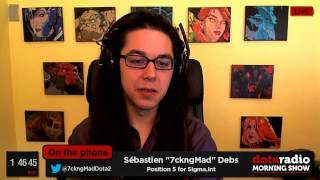 dota radio morning show ep11 part 2 7ckngmad interview