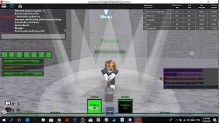 Roblox BFS (Boss Fighting Stages): Crusher Move list [LOOK AT DESC]