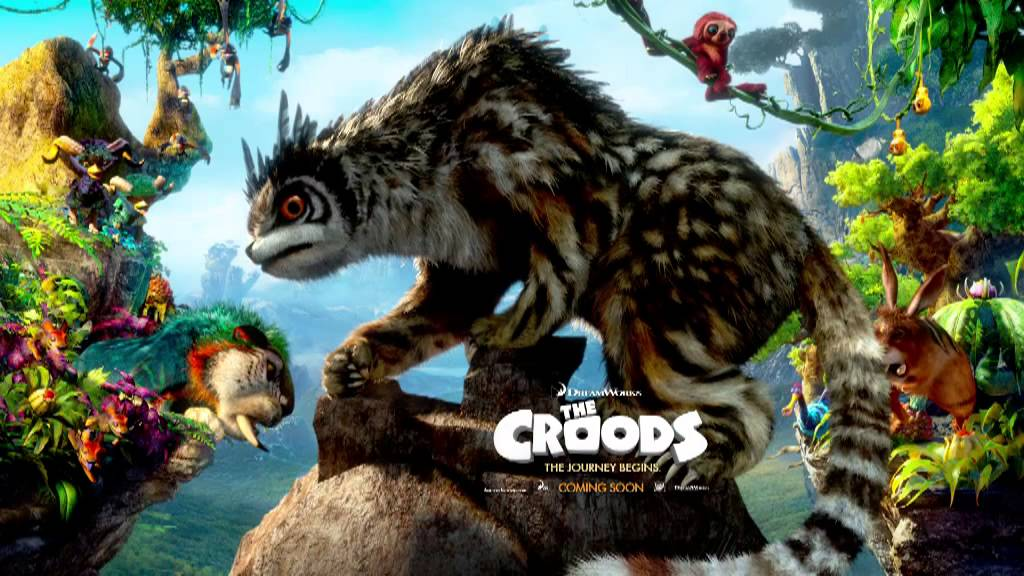 the croods animated movie poster youtube