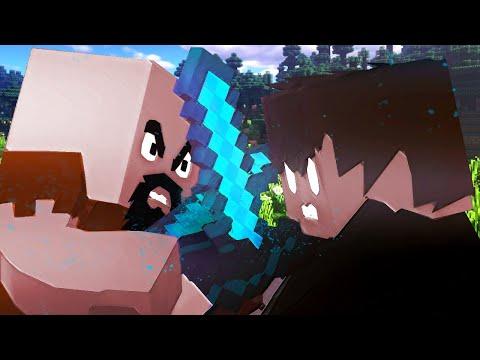 Notch VS Herobrine - Minecraft Animation