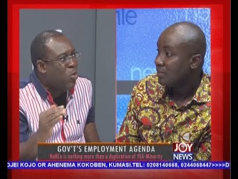 Government's Employment Agenda - Newsfile on JoyNews (5-5-18)
