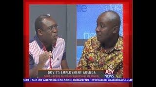 Government's Employment Agenda - Newsfile on JoyNews (5-5-18)