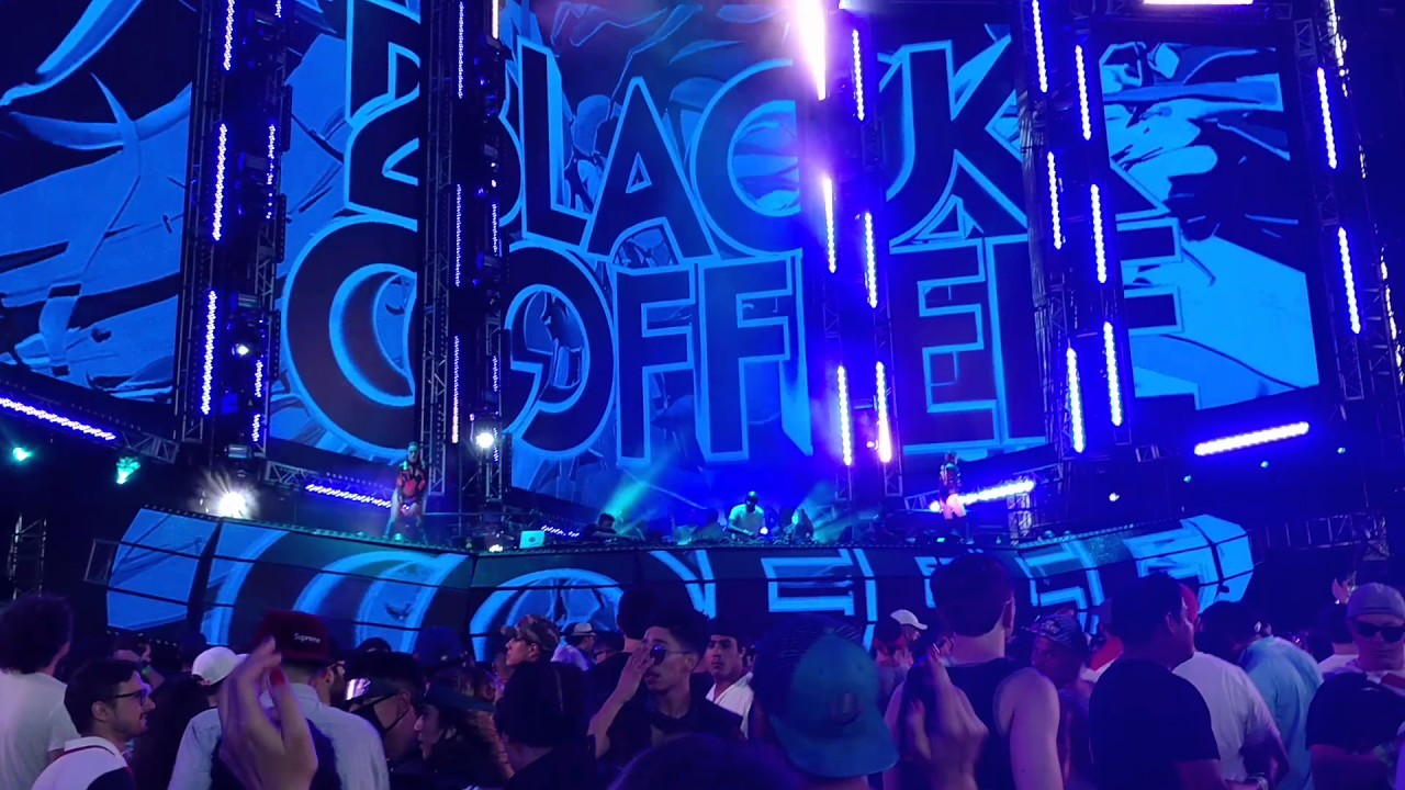 black coffee @resistance -ultra 2017 - youtube