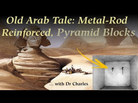 Arab Source: GIZA PYRAMID stones are held together with