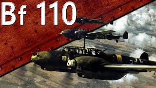 Только История: Messerschmitt Bf. 110. Часть 1.