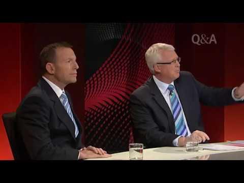 Geoff Thomas asks SSM Question of Tony Abbott
