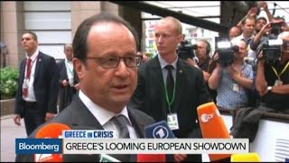 France Helping Greece With Proposal for Creditors