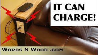 How To Make an ELECTRIC Sofa Table  (WnW #158)
