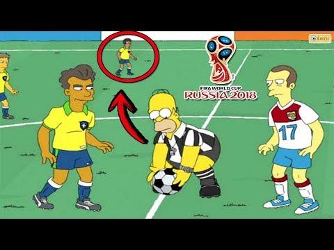 La Escalofriante Predicción de Los Simpson Sobre el Mundial Rusia 2018