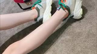 kirahosi 여자 컬러 키높이 운동화 어글리슈즈 5…