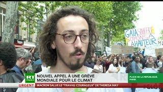 «Mettre la responsabilité sur nos dirigeants» : nouvelle manifestation pour le climat à Paris