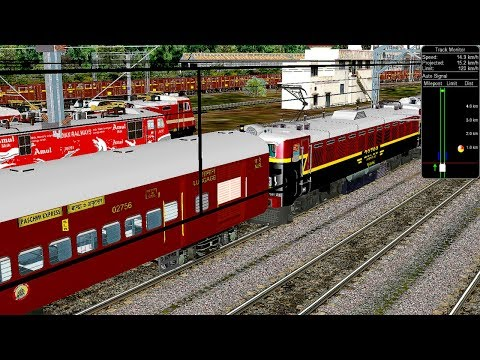 Shunting Train || Bhusaval To Daund Express Train With Old Coaches || Khandesh In Open Rail