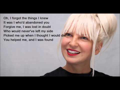 "Sia Furler ""Footprints"" Lyrics"