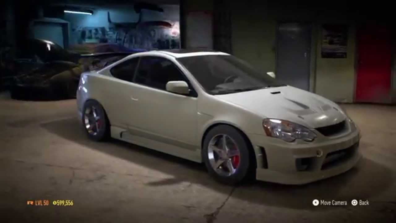 Need For Speed 2015 Acura Rsx Type S Maxed Build Youtube