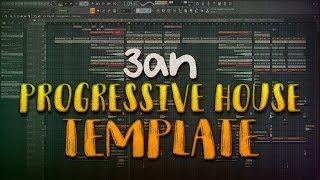 FL STUDIO   Professional Progressive House Template [FREE FLP]