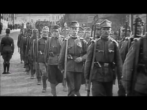 Austro-Hungarian army footage
