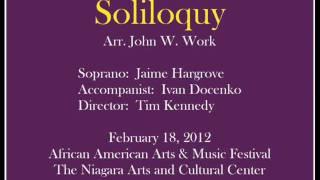 Soliloquy (John W. Work) - Jaime Hargrove