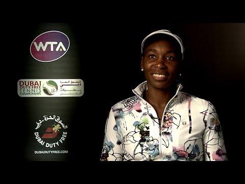 Venus Williams on Winning 2014 Dubai Duty Free Tennis Championships
