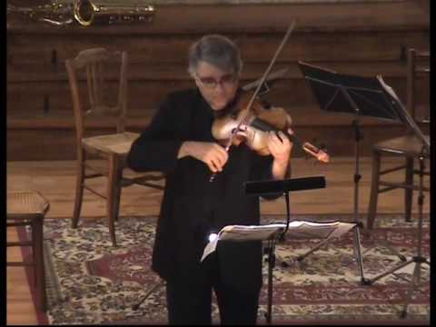 "Pierre Henri XUEREB,viola,  performs 2nd and 3rd mvts of ""CORDE"" by Alessandro SOLBIATI"