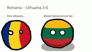 UEFA Nations League C and D in countryballs