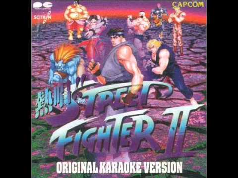 Sing!! Street Fighter II Original Karaoke V. - 04 - A Thrust of the Hand - Spirit of Japan [E.HONDA]