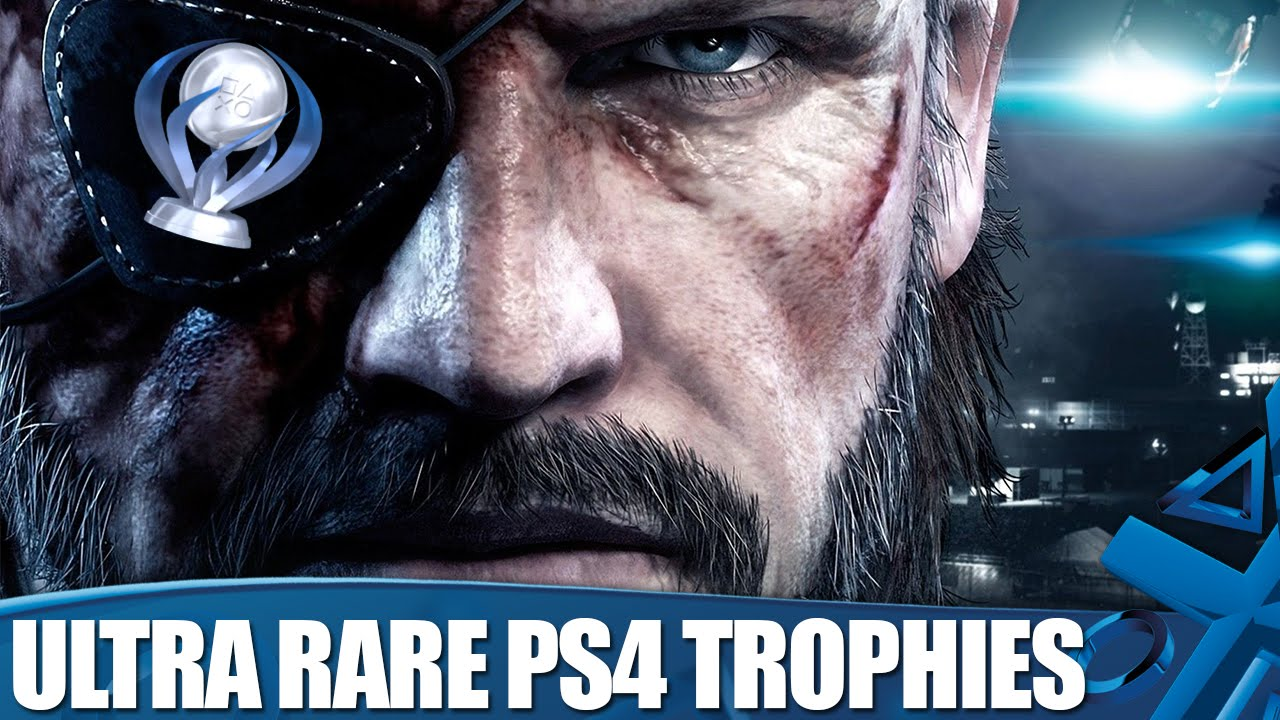 Ultra Rare PS4 Trophies That You Probably Won't Be Able to