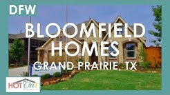 Bloomfield Homes at Lakeway Estates in Grand Prairie, TX