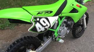 1998 KX80 KX 80 4 sale RESTORED. Motor rebuilt top & bottom, Almost everything is new. Im a LOSER.