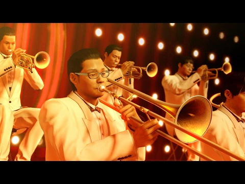 Yakuza 0 Has A Ridiculously Well Animated Jazz Band