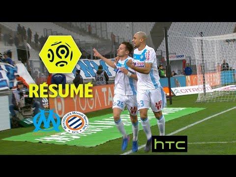 Olympique de Marseille - Montpellier Hérault SC (5-1)  - Résumé - (OM - MHSC) / 2016-17