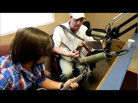 "Damon Troy in Cajun Radio studio ""Homesick Waltz"""