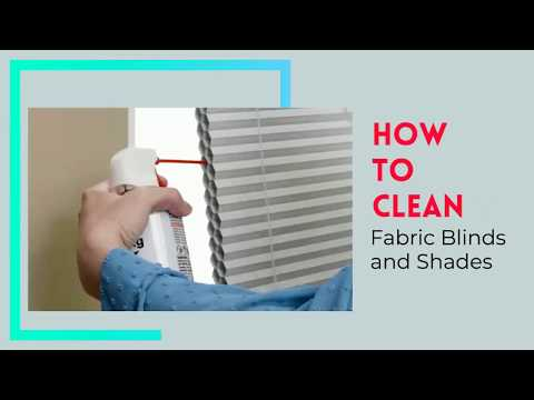 How to Clean Fabric Blinds and Shades