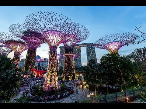 dunia-malam-singapore---gardens-by-the-bay-full-show