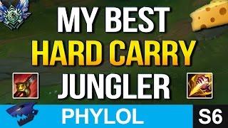 MY BEST HARD CARRY CHEESE JUNGLER (League of Legends)
